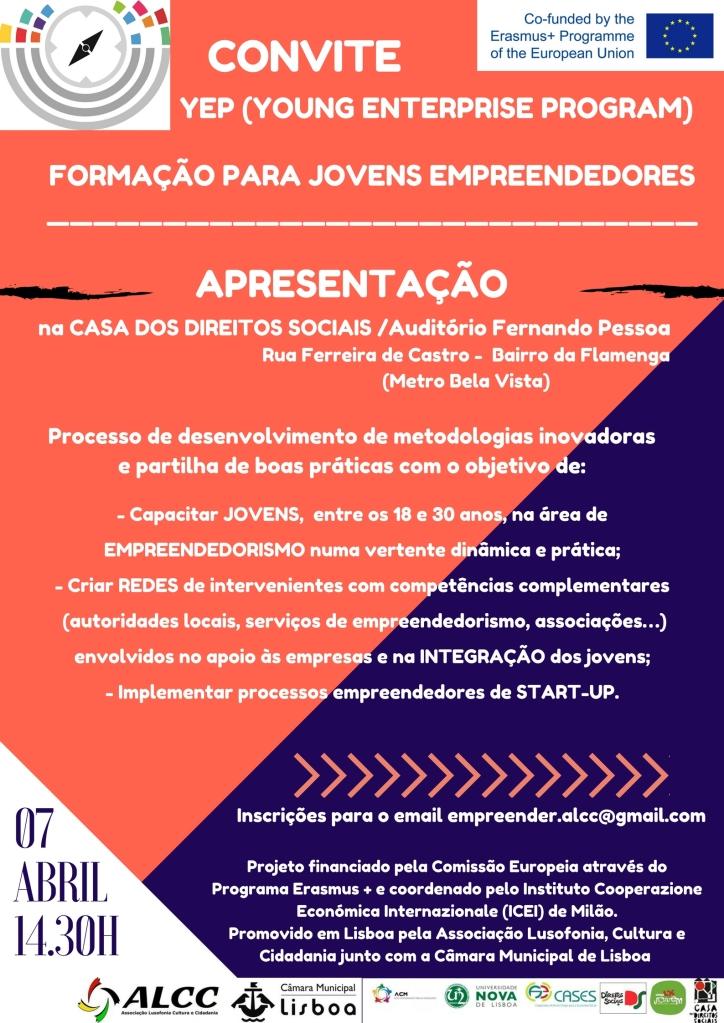YEP Convite Apresentaçao